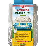 Kaytee CritterTrail Small Animal Bedding Tray, Medium, 3 count