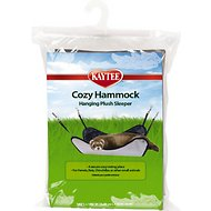Kaytee Small Animal Plush Sleeper Hammock, 14.5-in