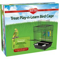 Kaytee Treat Play-n-Learn Parakeet Bird Cage