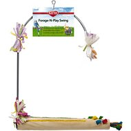 Kaytee Forage-N-Play Swing Bird Perch, Small