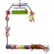 Kaytee Forage-N-Play Swing Bird Perch, Medium