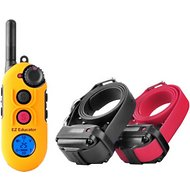 E-Collar Technologies Easy Educator 1/2 Mile Range Remote Dog Training Collar, 2 dogs