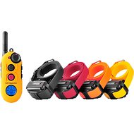 E-Collar Technologies Easy Educator 1/2 Mile Range Remote Dog Training Collar, 4 dogs