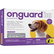 Onguard Flea & Tick Treatment for Dogs, 23-44 lbs, 6 treatments (Compare to Frontline Plus)