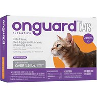 Onguard Flea & Tick Treatment for Cats & Kittens, 6 treatments (Compare to Frontline Plus)