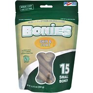 BONIES Skin & Coat Formula Small Dog Treats, 15 count