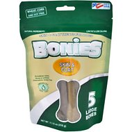 BONIES Skin & Coat Formula Large Dog Treats, 5 count