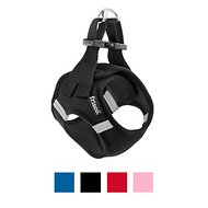 Frisco Small Breed Soft Vest Dog Harness, Black, 11 - 13 in