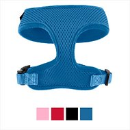 Frisco Small & Medium Breeds Soft Mesh Dog Harness, Blue, 12 - 16.5 in
