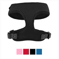Frisco Soft Mesh Dog Harness, Black, Small