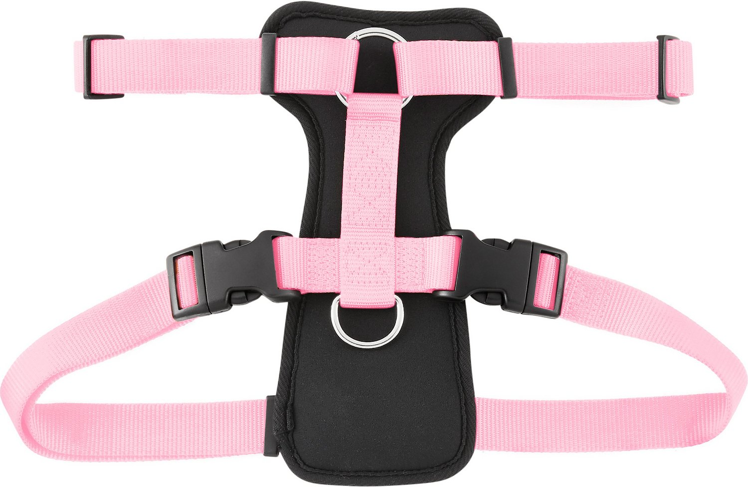 Frisco Padded Front Lead Dog Harness Pink 26 40 In