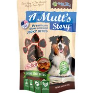 Living the PawWay A Mutt's Story Chicken Jerky Bites Dog Treats, 1-lb bag