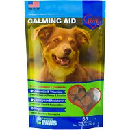 Particular Paws Calming Aid Soft Chews Dog Supplement, 65 count