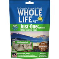 Whole Life Just One Ingredient Pure Cod Fillet Freeze-Dried Dog Treats, 1.6-oz bag