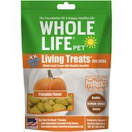 Whole Life Living Treats Digestive Pumpkin Blend Dog Treats, 3-oz bag