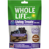 Whole Life Living Treats Antioxidant Fruit Blend Dog Treats, 3-oz bag