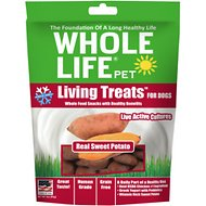 Whole Life Living Treats Real Sweet Potato Dog Treats, 3-oz bag