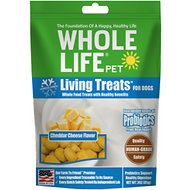 Whole Life Living Treats Real Cheddar Cheese Dog Treats, 3-oz bag