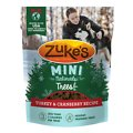 Zuke's Mini Naturals Holiday Trees Turkey & Cranberry Recipe Dog Treats