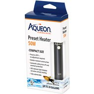 Aqueon Preset Aquarium Heater, 50-watt