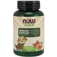 NOW Pets Urinary Support Dog & Cat Supplement, 90 count