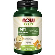 NOW Pets Pet Relaxant Dog & Cat Supplement, 90 count