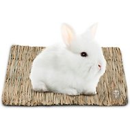 SunGrow Natural Seagrass Small Animal Mat, Medium