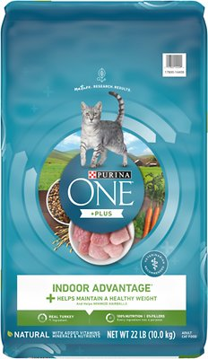 4. Purina ONE Indoor Advantage Adult Dry Cat Food