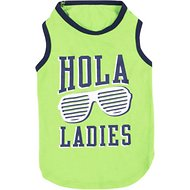 SimplyWag Hola Ladies Dog Tank, X-Small