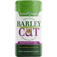 Green Foods Barley Cat Grass Juice Powder Cat Supplement, 3-oz jar