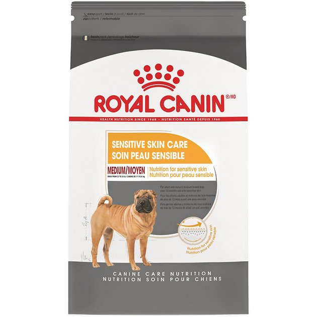 royal canin medium sensitive skin care adult medium breed. Black Bedroom Furniture Sets. Home Design Ideas