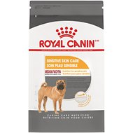 Royal Canin Medium Sensitive Skin Care Adult Medium Breed Dry Dog Food, 17-lb bag