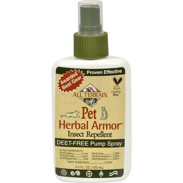 All Terrain Herbal Armor Natural Insect Repellent Dog Cat Spray