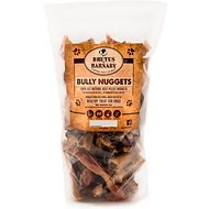 Brutus & Barnaby Bully Nuggets Dog Treats, 1-lb bag