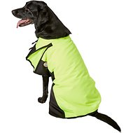 Derby Originals 600D Waterproof Dog Blanket Coat, Lime Green/Black, 26.5-in