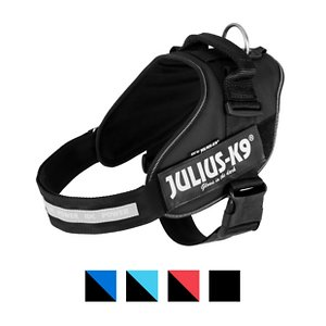 Julius-K9 IDC Powerharness Nylon Reflective No Pull Dog Harness