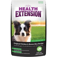Health Extension Original Chicken & Brown Rice Recipe Dry Dog Food, 1-lb bag