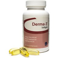Derma-3 Softgels Small Breed Dog & Cat Supplements, 60 count