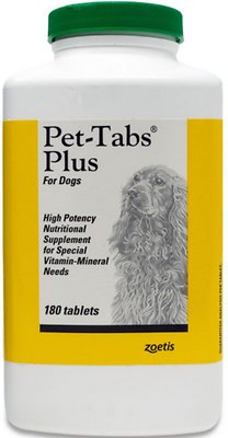 7. Pet-Tabs Plus Vitamin-Mineral Dog Supplement