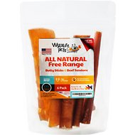 Wyldlife Pets Bully Stick & Beef Tendon Mix Dog Treats, 6 count