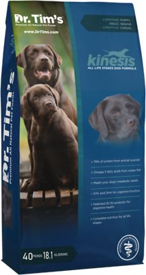 7. Dr. Tim's All Life Stages Kinesis Formula Dry Dog Food