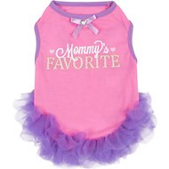 Smoochie Pooch Mommy's Favorite Ruffle Dog Dress, Large