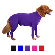 Shed Defender Shedding Dog Bodysuit, Purple, X-Small