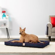 LaiFug Orthopedic Memory Foam Dog Bed with Water Proof Liner & Removable Washable Cover, Blue Denim, Large