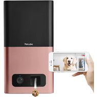 Petcube Bites Wi-Fi Pet Camera & Treat Dispenser, Rose Gold