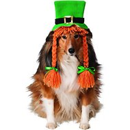 Rubie's Costume Company Irish Girl Dog & Cat Hat w/ Braids, Small/Medium