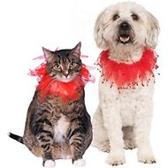 Rubie's Costume Company Fancy Red Dog & Cat Collar, Large