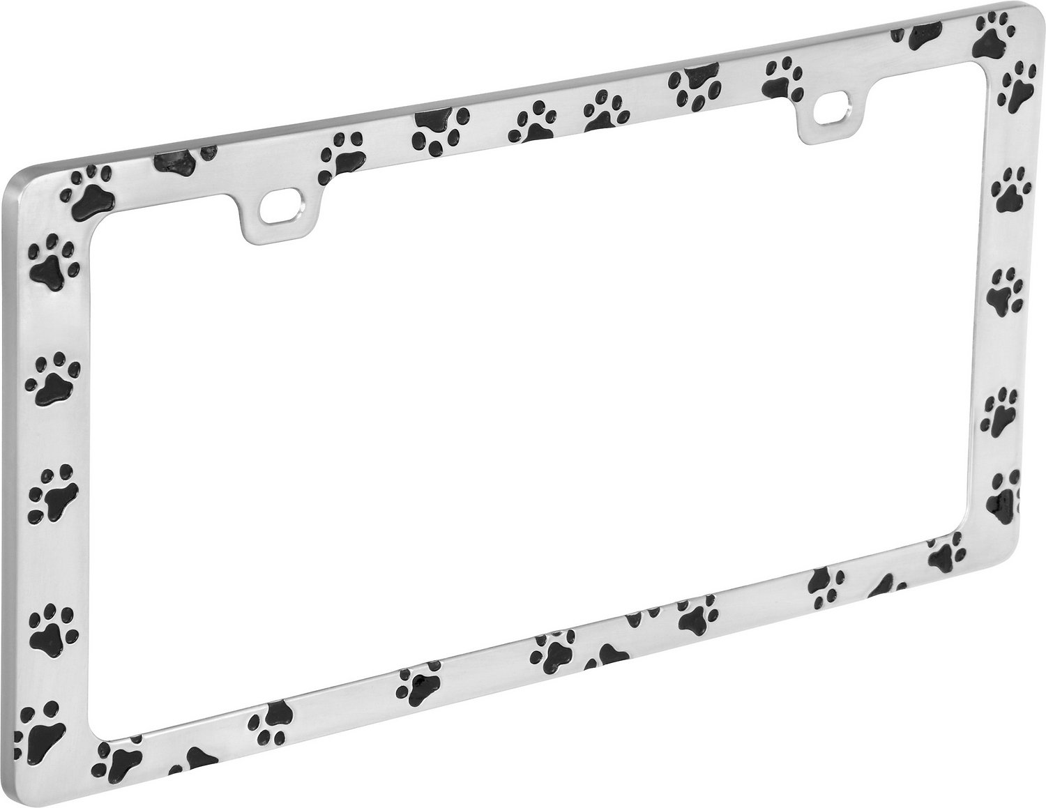 Bell Automotive Paw Print License Plate Frame - Chewy.com
