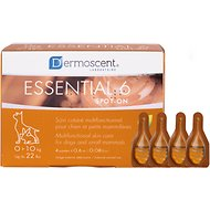 Dermoscent Essential 6 Spot-On Small Breed Dog Skin Care Treatment, 4 count