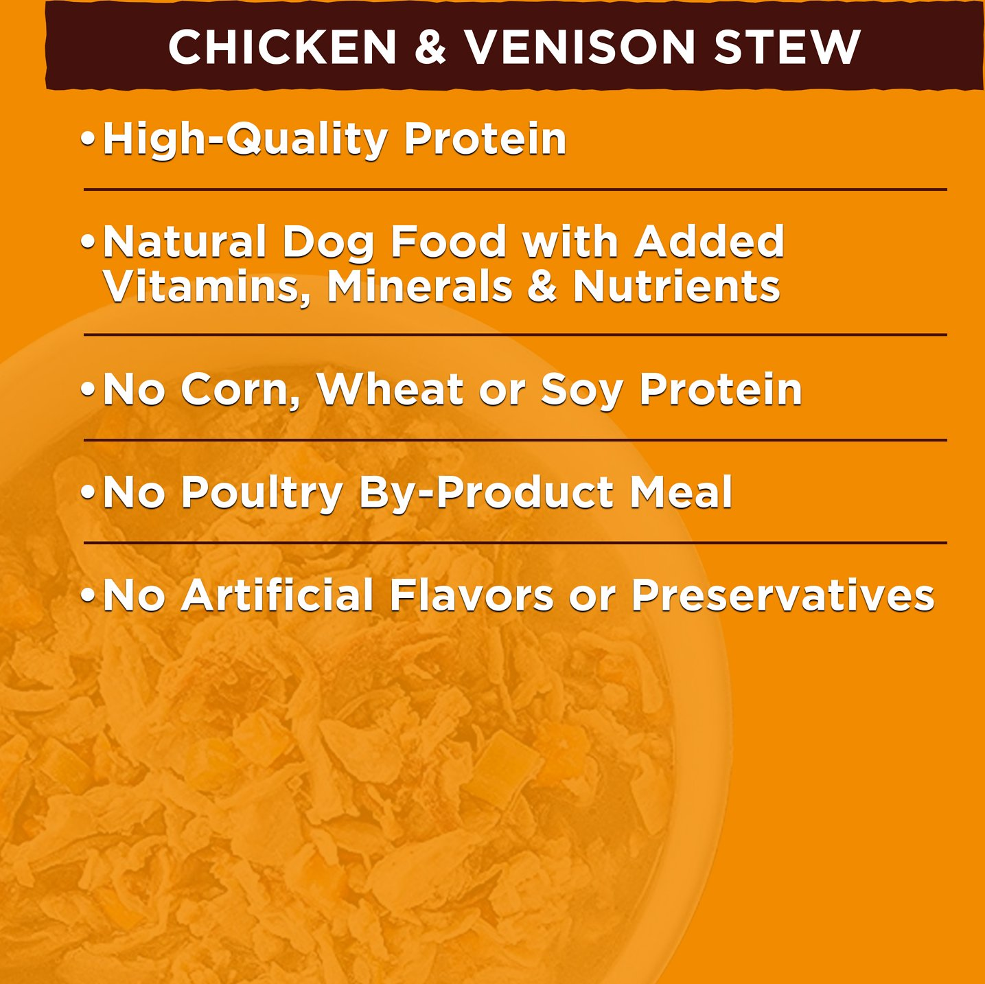Nature S Recipe Venison Canned Dog Food